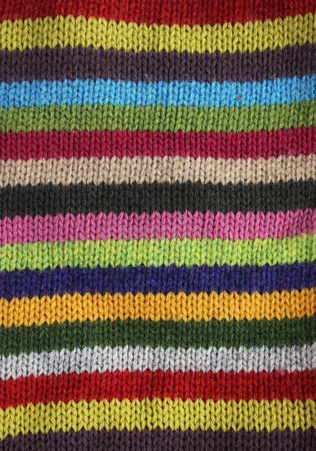 Lane lavorate a maglia fotografie stock libere da diritti