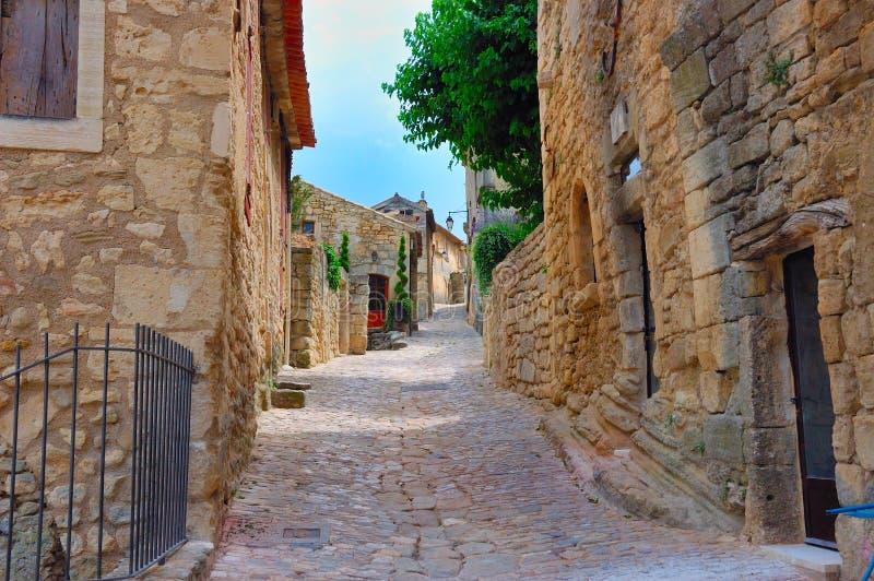 lane Provence starej wioski obraz royalty free