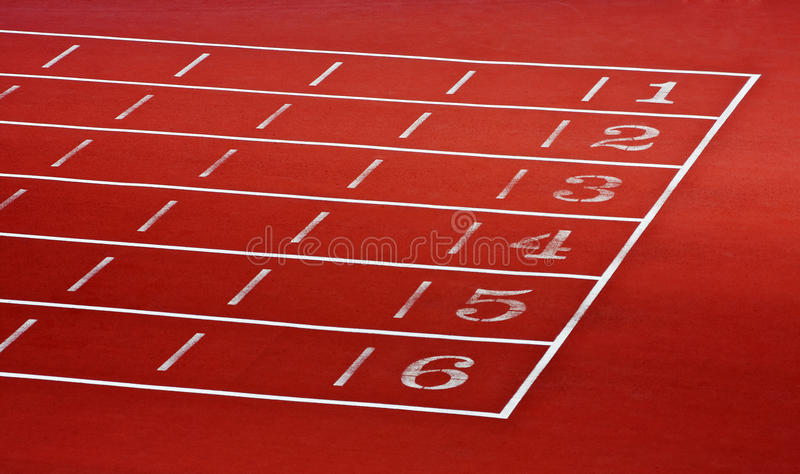 Download Lanes of running track stock image. Image of compete - 23022805