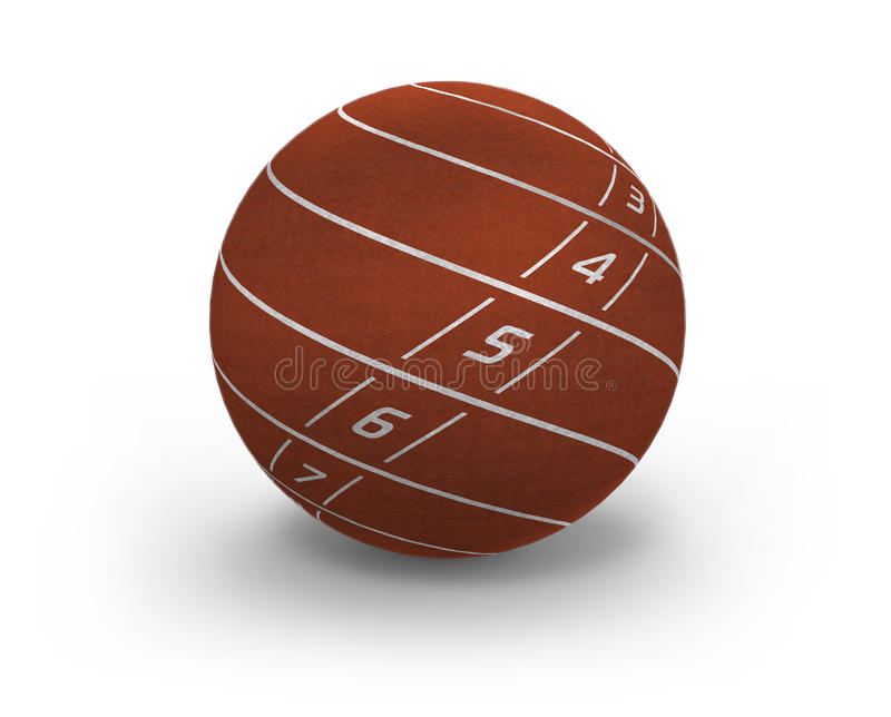 Download Lanes on sphere stock illustration. Image of ball, arena - 26583694