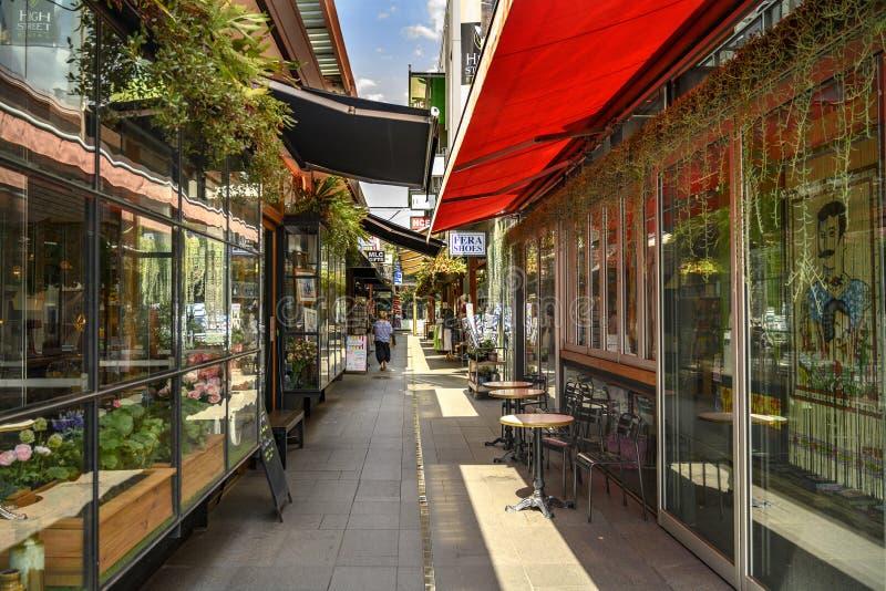 Laneway in Bowral stockfotografie