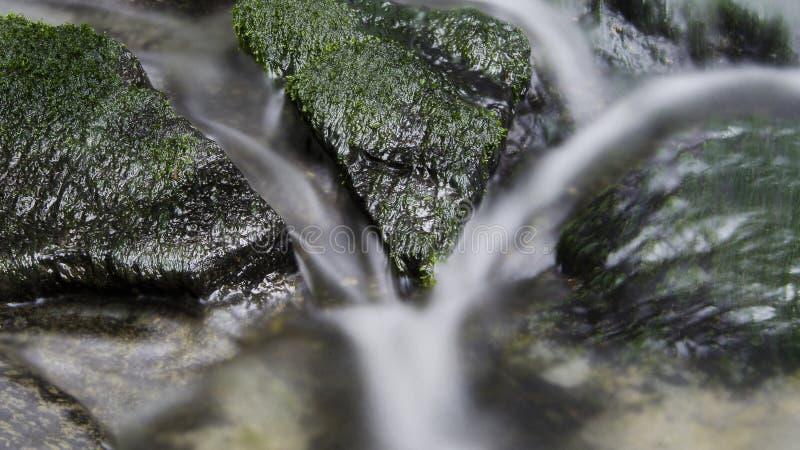Lang blootstellingswater stock foto