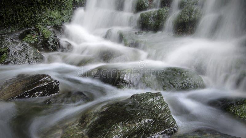 Lang blootstellingswater stock afbeeldingen