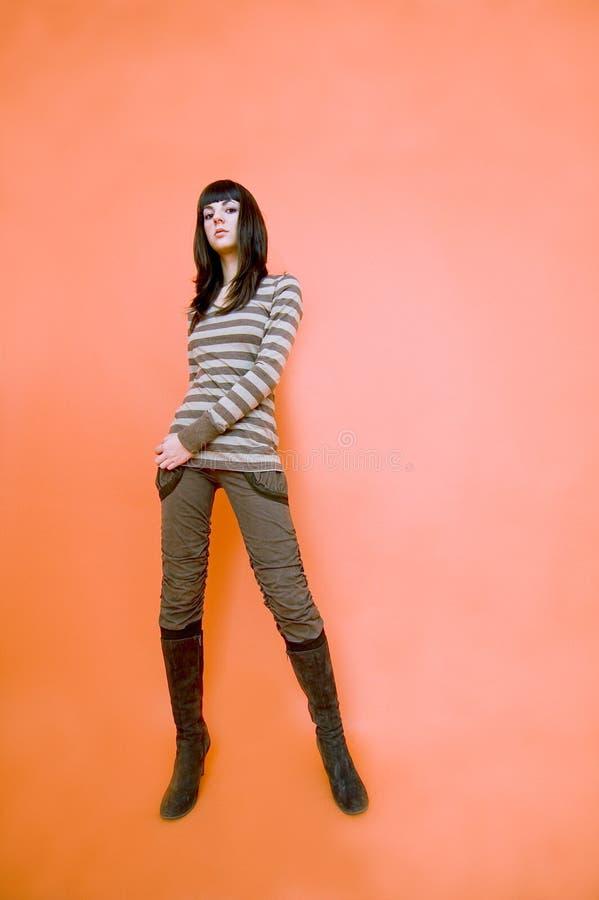 Lang en slank.   royalty-vrije stock afbeelding