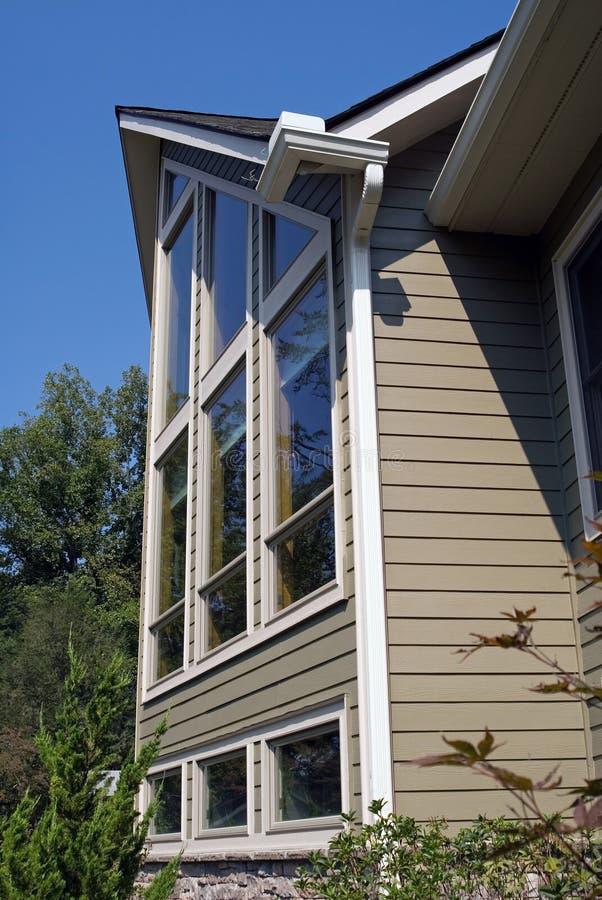 Lang Huis Stock Fotografie