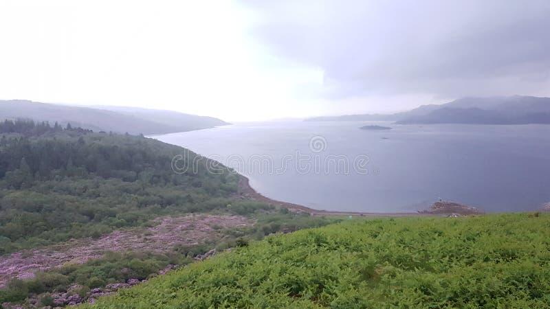 Lang Loch stock foto's