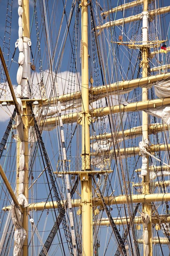Lang schip stock afbeelding