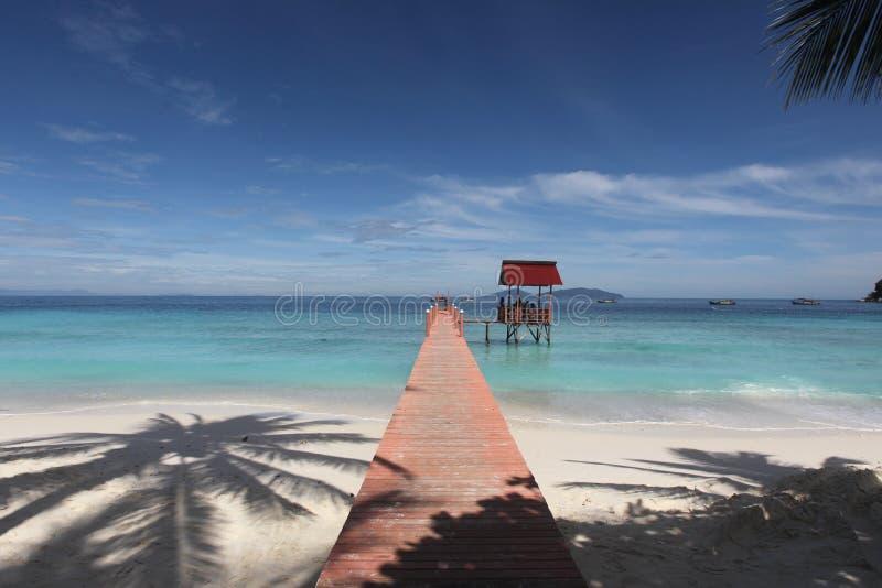 Lang Tengah Island Bridge photos stock