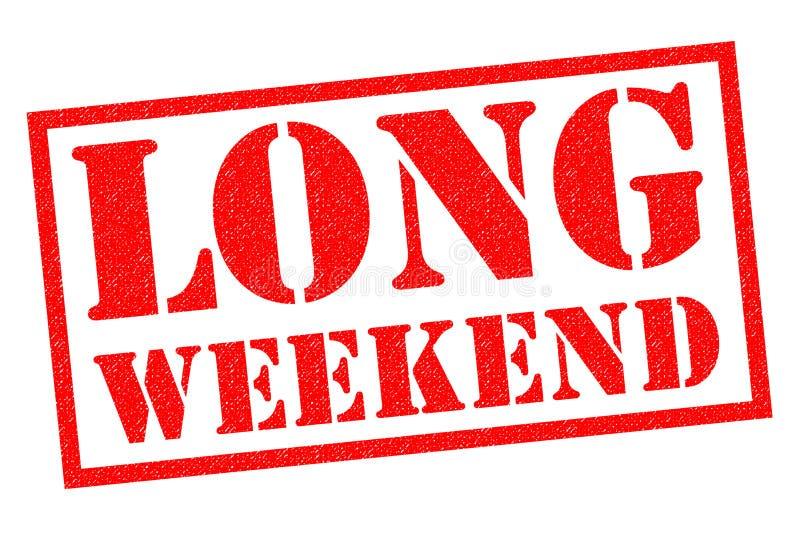 Lang Weekend royalty-vrije illustratie