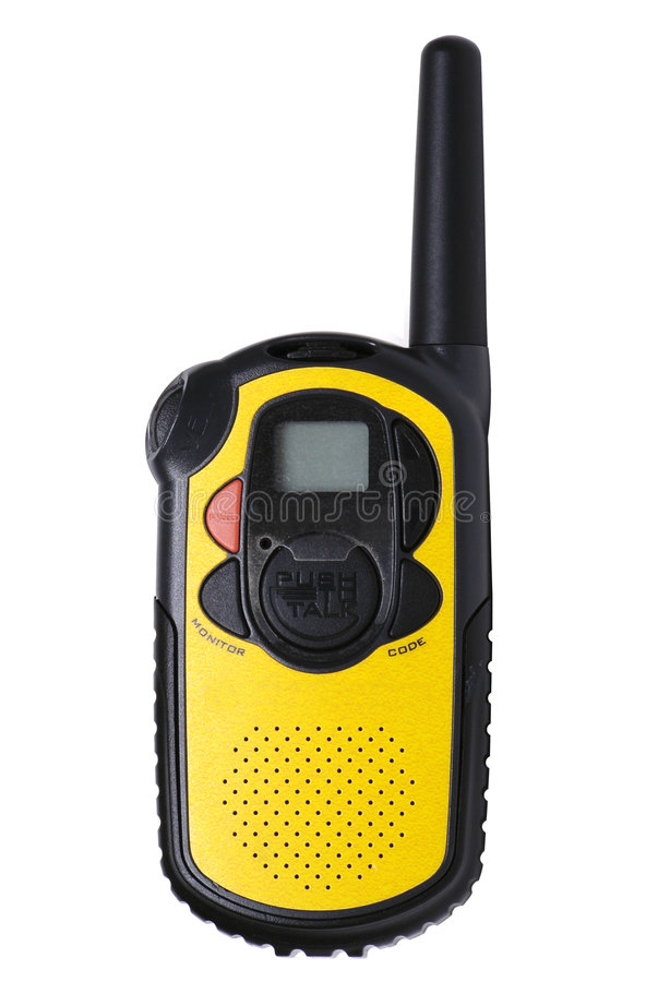Lange-afstands Walkie-talkie stock foto