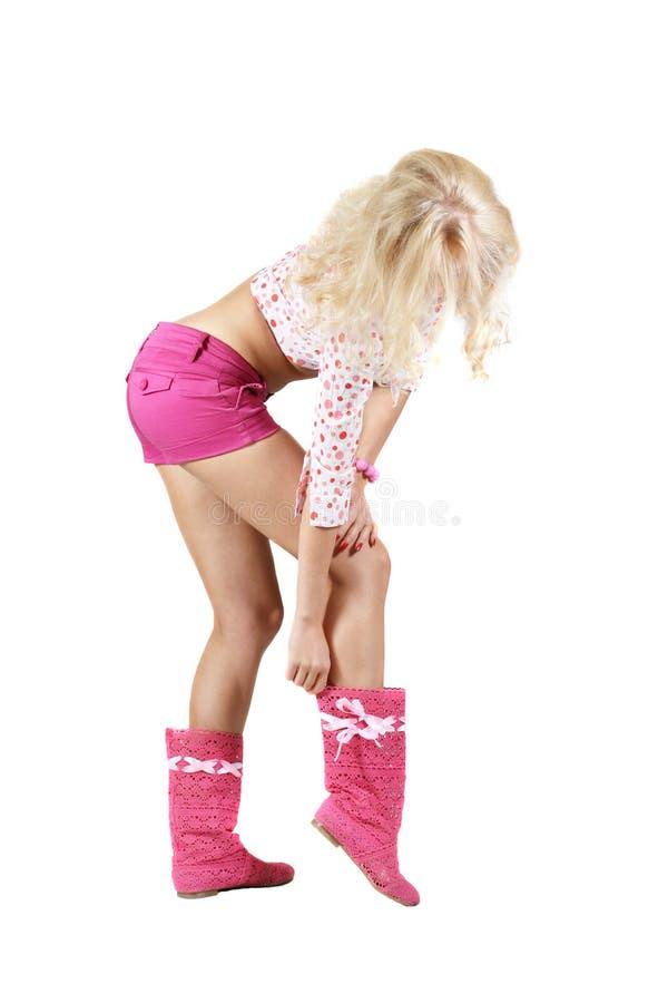 Lange benen stock fotografie