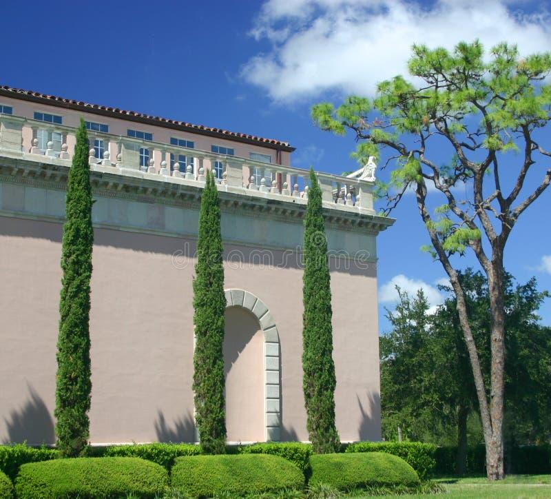 Download Lange Bomen stock foto. Afbeelding bestaande uit roze, italiaans - 32450