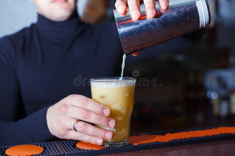 Lange cocktail stock afbeelding