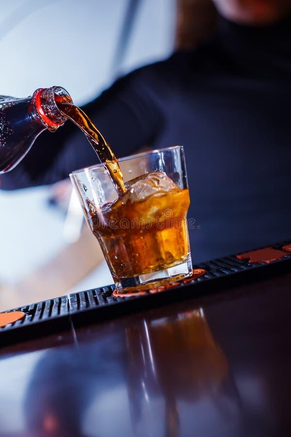 Lange cocktail royalty-vrije stock afbeeldingen