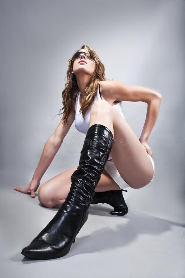 Lange laarzen stock afbeelding