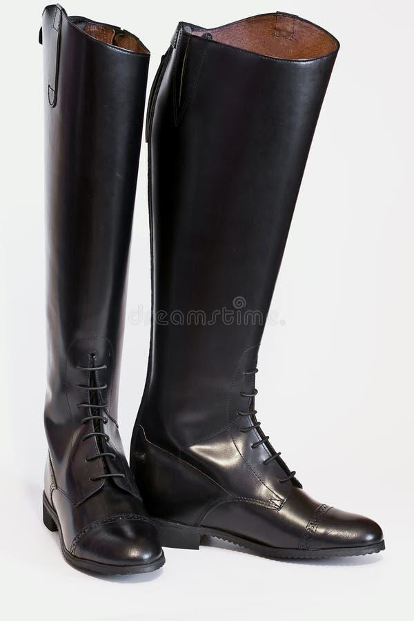Lange laarzen royalty-vrije stock afbeeldingen