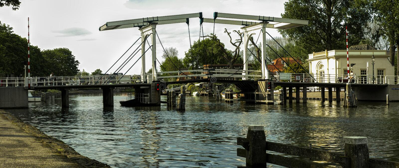 Lange Vecht brug. royalty free stock image