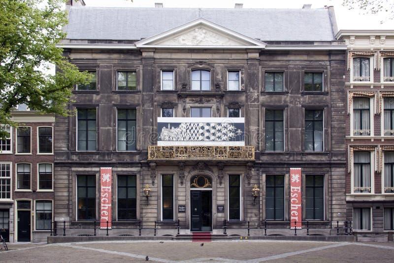 lange voorhout的Escher博物馆在海牙 库存图片