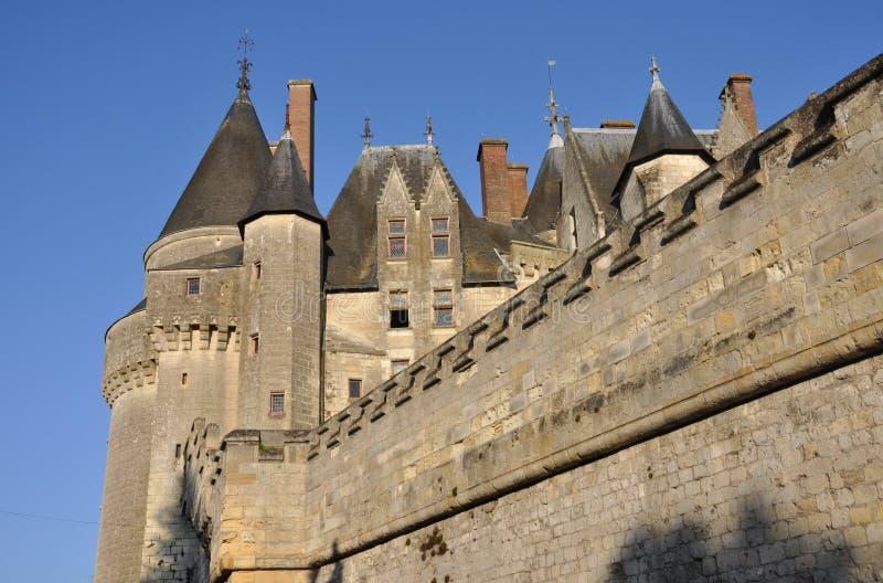 Langeais Chateau stockbilder