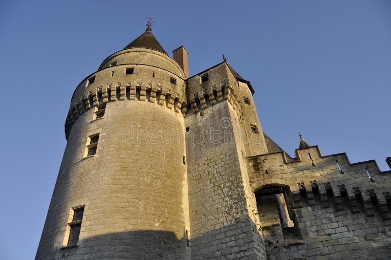 Langeais Chateau lizenzfreie stockfotografie