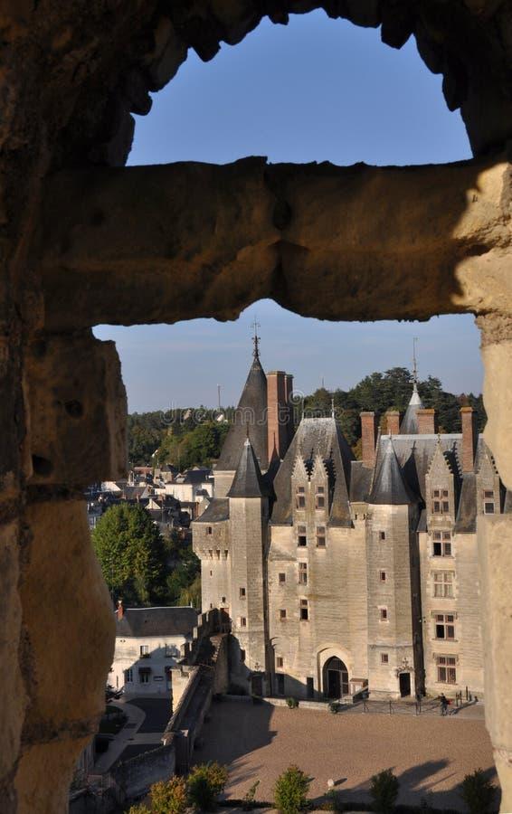 Langeais Schloss lizenzfreie stockfotografie