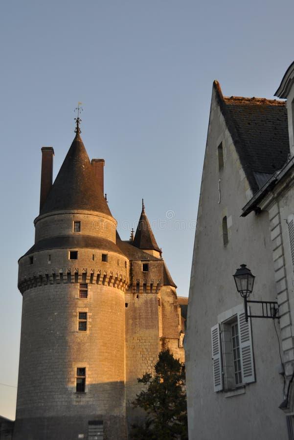 Langeais Schloss stockfoto