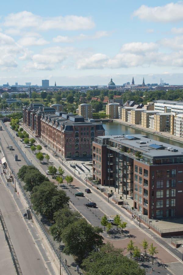 Langeline Allee, Kopenhagen Lizenzfreie Stockfotos