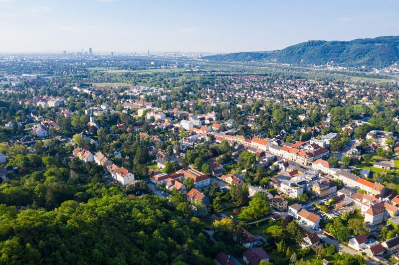Langenzersdorf in Weinviertel, Niederösterreich fotografia stock