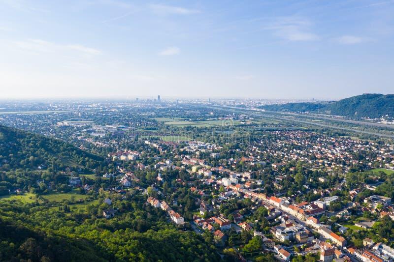 Langenzersdorf in Weinviertel, Nieder?sterreich fotografia stock libera da diritti