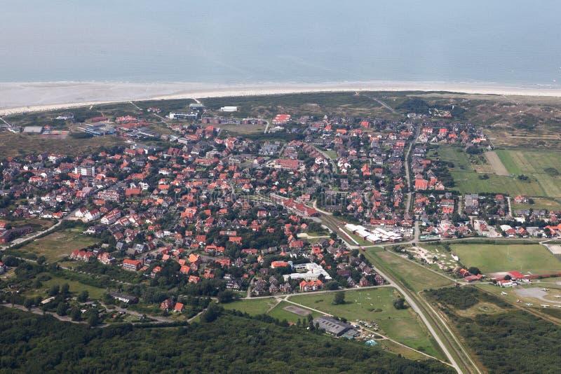 Langeoog stock fotografie