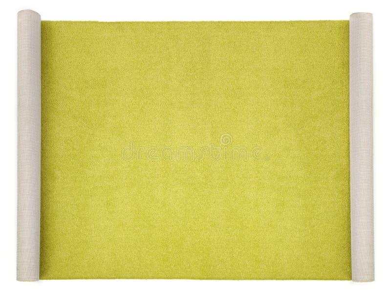 Langer teppich  Langer Teppich Auf Weiß Stockbilder - Bild: 9213394