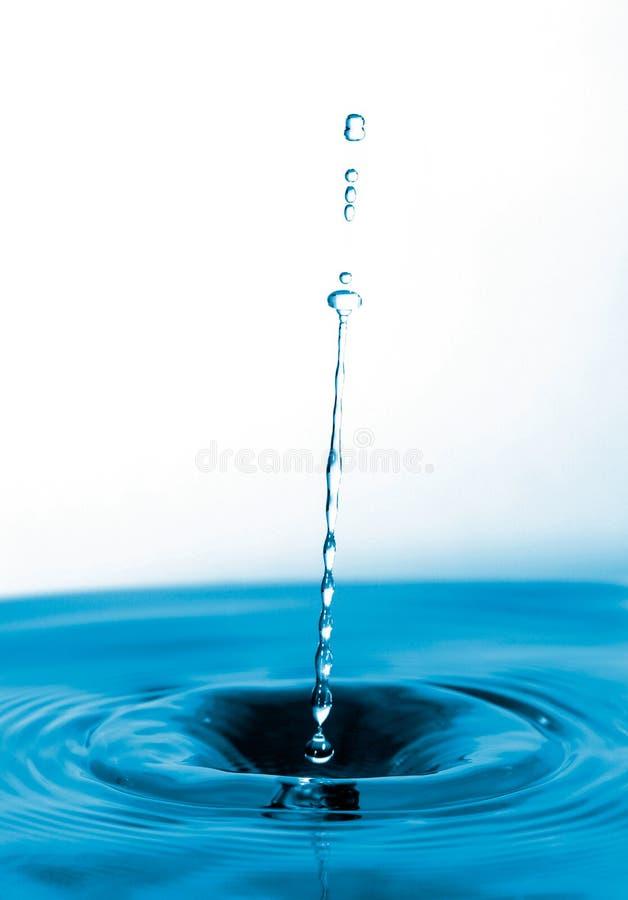 Langer Wassertropfen Stockbild