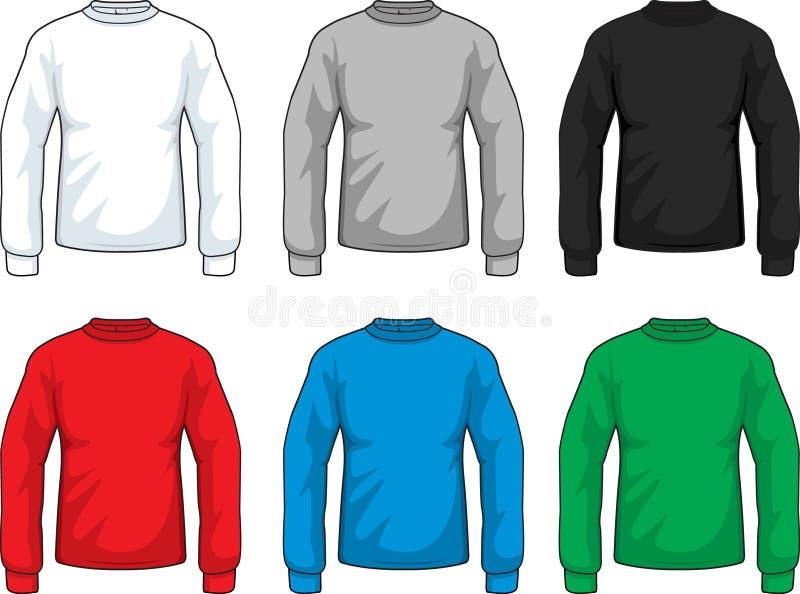 Langes Hülsen-Hemd lizenzfreie abbildung