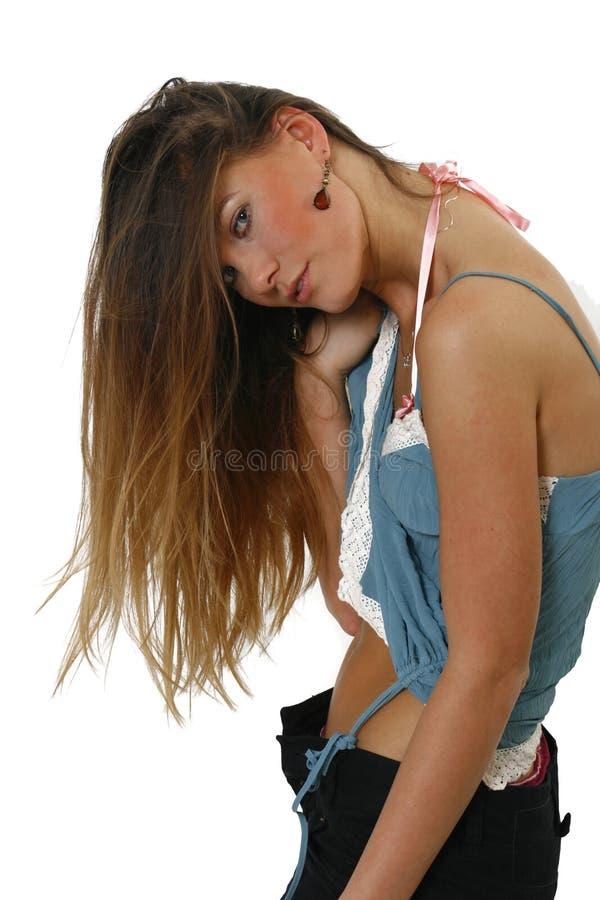 Langes Haar stockfotos