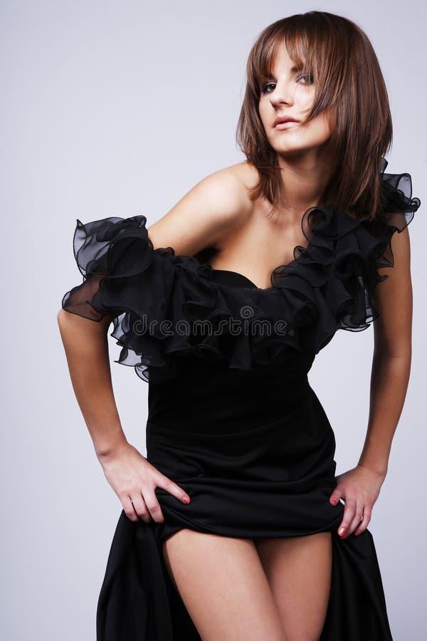 Langes Kleid. stockfoto