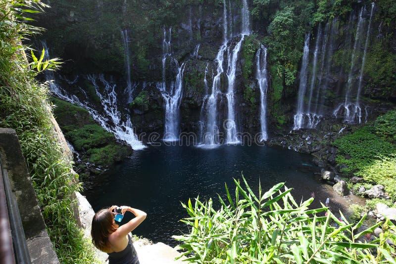 Langevin tombe, La Reunion Island, Indien Oean photographie stock libre de droits