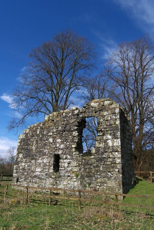Langholm Schloss, Dumfries u. Galloway, Schottland lizenzfreie stockfotos
