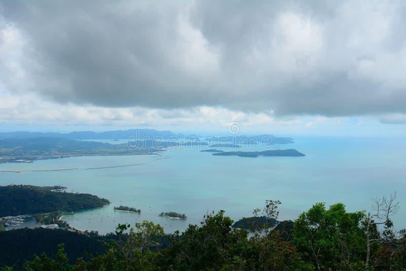 Langkawi-Archipel, Malaysia stockbilder
