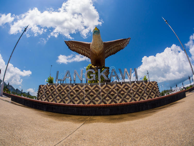 Langkawi Eagle stock fotografie