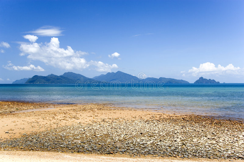 Download Langkawi Island Beach stock photo. Image of clouds, shore - 1556652