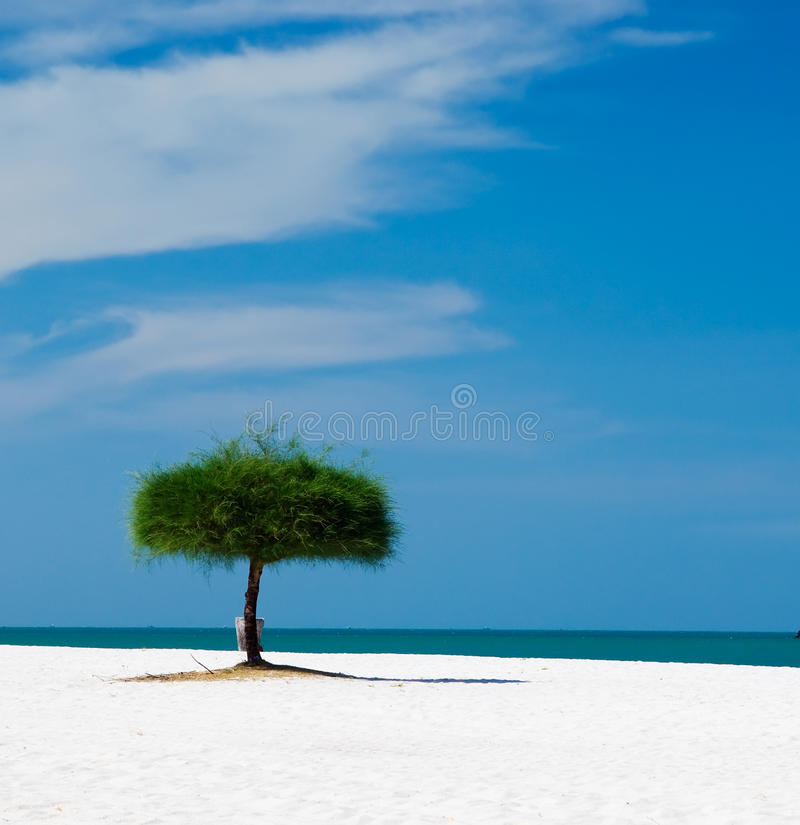 langkawi piasków niebo fotografia stock