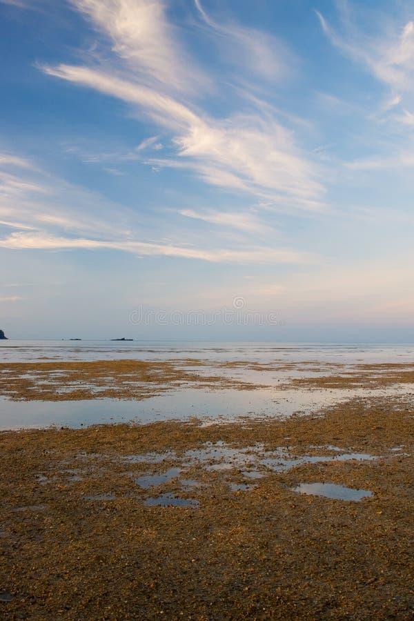 langkawi piasków niebo obrazy stock