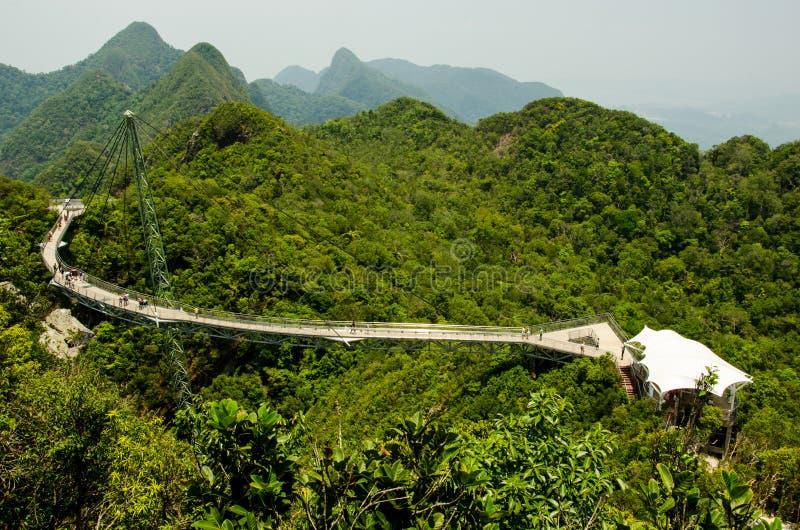 Langkawi skybridge στοκ φωτογραφία με δικαίωμα ελεύθερης χρήσης