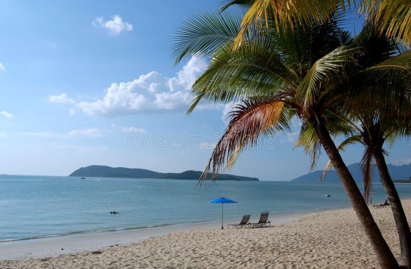 Langkawi - Tropical Beach royalty free stock photos