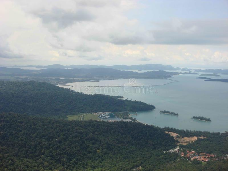 Langkawi View from Cable Car royalty free stock photos