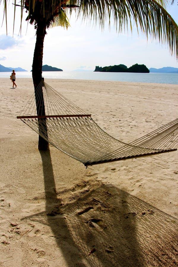 Langkawi wyspy Malezja dezerterująca plaża zdjęcia stock