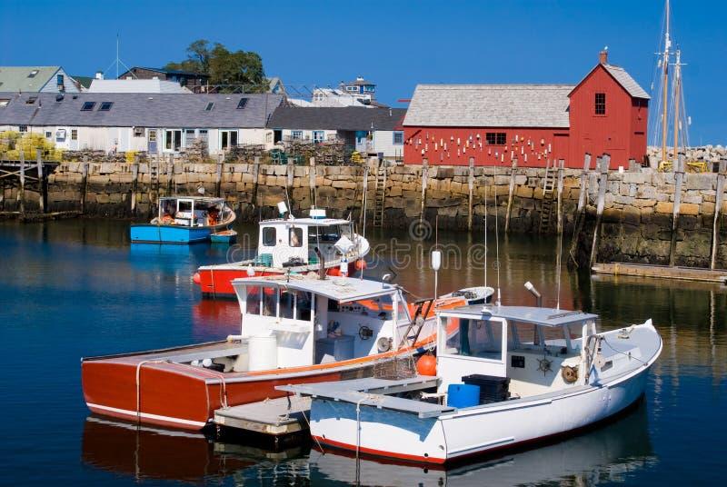 langoustine de bateaux photos stock