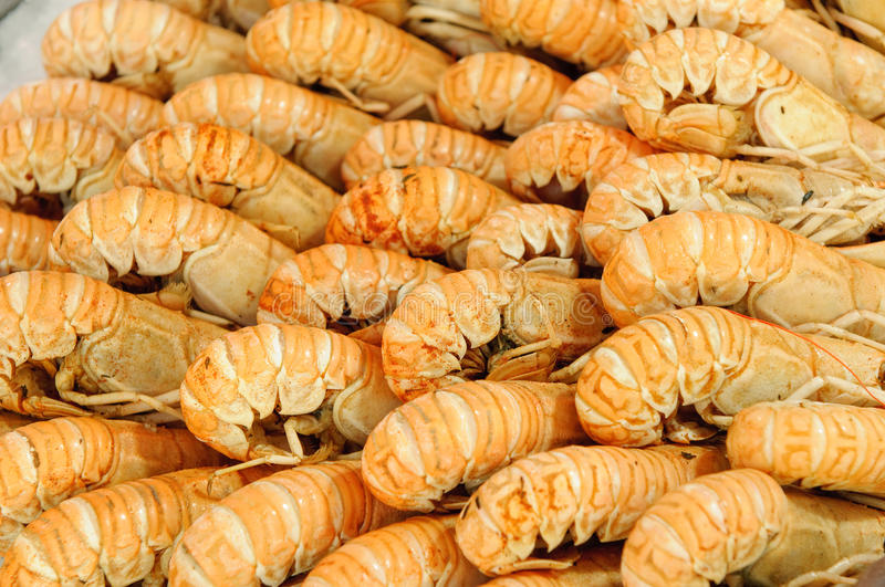 Download Langoustines at fishmarket stock photo. Image of healthy - 10309898