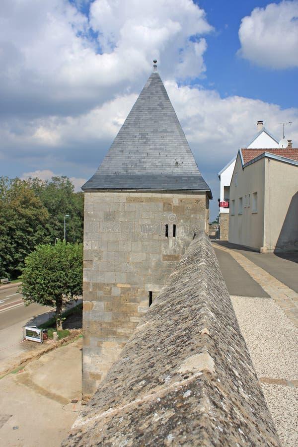 Langres, França fotografia de stock royalty free