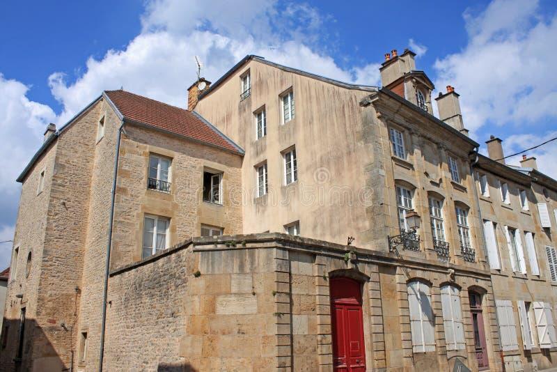 Langres, França imagens de stock royalty free
